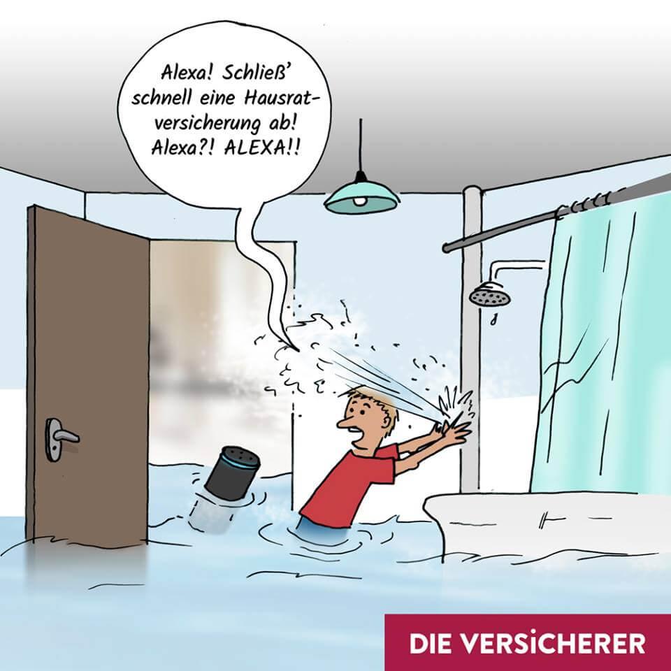 Wasserschaden Hausratversicherung